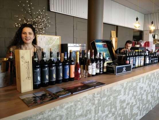 Wine tasting at Touch Wijnen